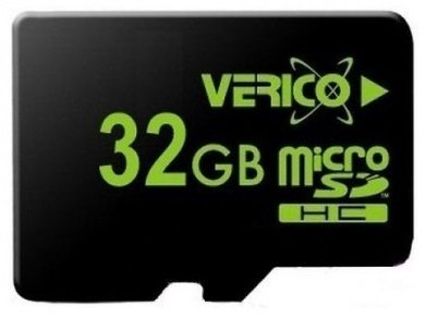 Карта памяти Verico MicroSDHC 32GB Class 4 (card only)
