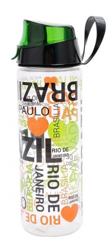 Бутылка для спорта HEREVIN Brazil 0.75 л