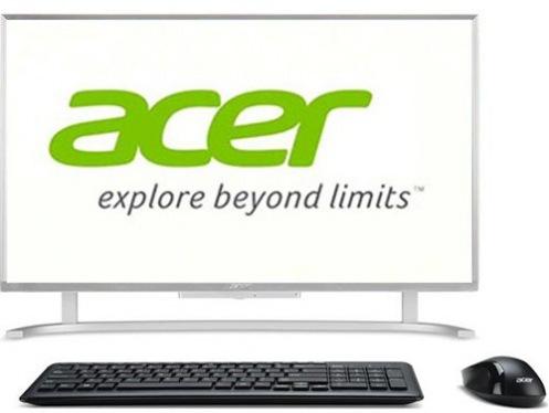 """Моноблок 23.8"""" Acer Aspire C24-760 Silver (DQ.B8XME.001)"""