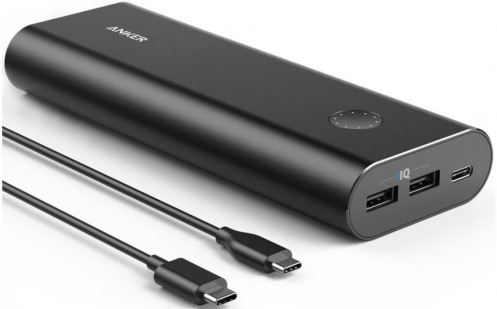 Универсальная мобильная батарея ANKER PowerCore+ 20100 USB-C V3 Black