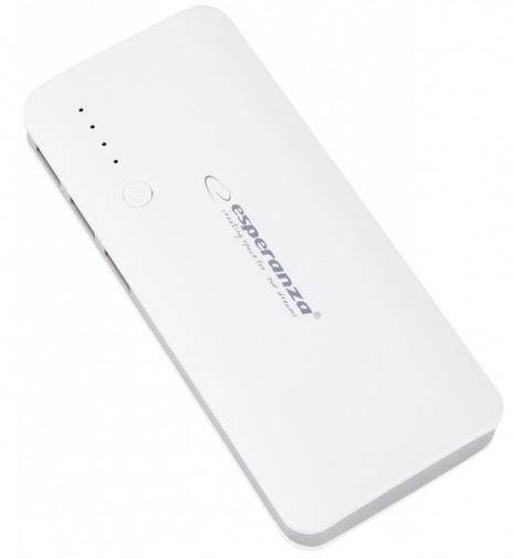 Универсальная мобильная батарея Esperanza 8000 mAh W/G EMP106WE