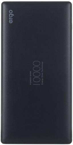 Универсальная мобильная батарея ERGO LP-83 10000 mAh Black