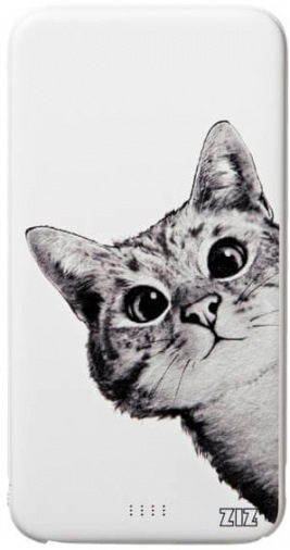 """Универсальная мобильная батарея ZIZ  """"Эй, Кот!"""" 5000mAh (44008)"""