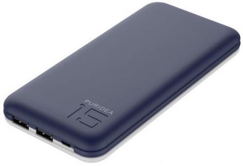 Внешний аккумулятор PURIDEA S3 15000mAh Blue/White