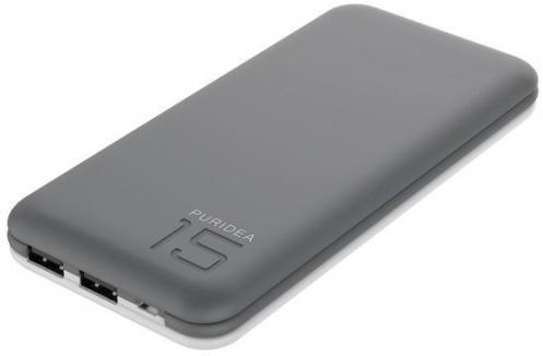 Внешний аккумулятор PURIDEA S3 15000mAh Grey/White