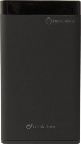 Внешний аккумулятор Cellularline Manta 8000 Pro QC 3.0 Black