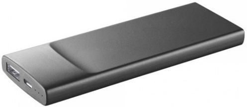 Универсальная мобильная батарея Cellularline Slim 3600mAh black (FREEP3600SLIMK)