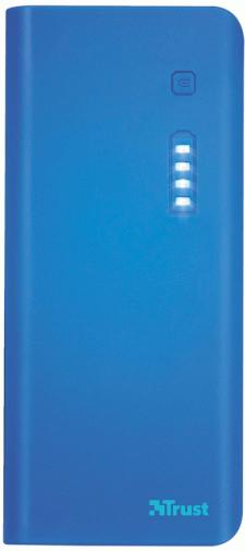 Универсальная мобильная батарея TRUST Primo 10000 Blue (22072)