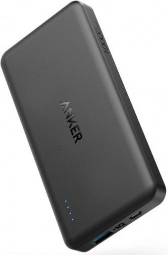 Универсальная мобильная батарея ANKER Slim 10000mAh Black (A1261H11)