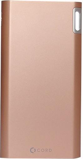 Универсальная мобильная батарея CORD J208 8000 mAh Gold