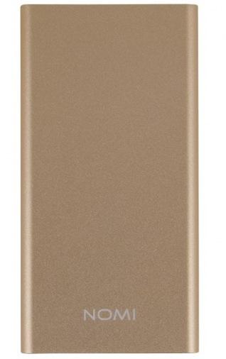 Универсальная мобильная батарея Nomi E050 5000 mAh Gold