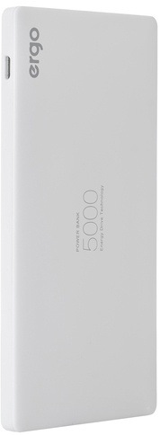 Универсальная мобильная батарея ERGO LP-91 5000 mAh White