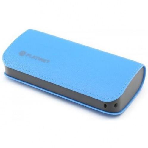 Универсальная мобильная батарея PLATINET leather 5200mAh (PMPB52LBL)