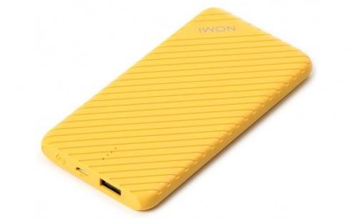 Универсальная мобильная батарея Nomi F050 5000 mAh Yellow