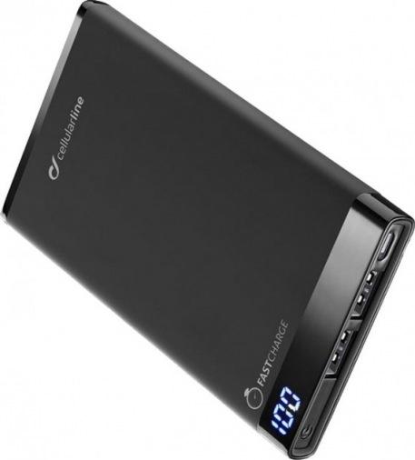 Универсальная мобильная батарея Cellularline Manta 12000 mAh black (FRE