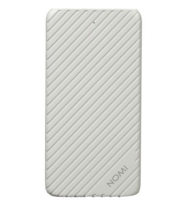 Универсальная мобильная батарея Nomi F050 5000mAh White