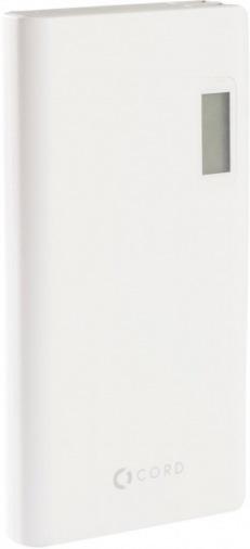 Универсальная мобильная батарея CORD Y635 20000 mAh White/Grey
