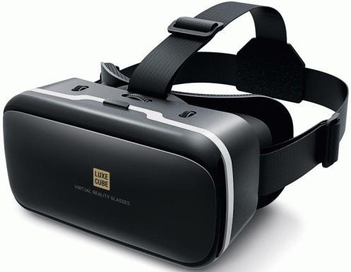 Очки VR LUXE CUBE чорные