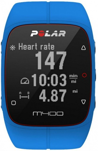 Фитнес-браслет POLAR M400 HR + GPS for Android/iOS Blue (90057190)