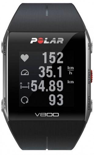 Фитнес-браслет POLAR V800 HR Black (90060770)