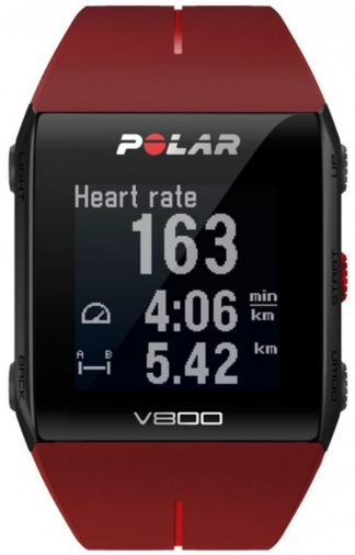 Фитнес-браслет POLAR V800 HR Red (90060774)