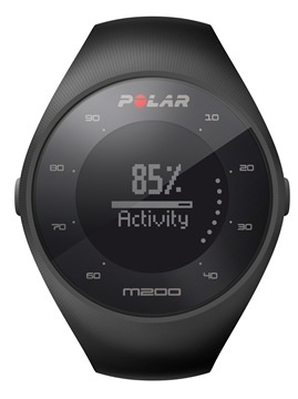 Фитнес-браслет POLAR M200 for Android/iOS Black M/L (90061201)