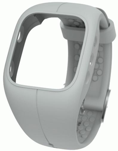 Сменный браслет для POLAR A300 Wristband Gray (91054248)