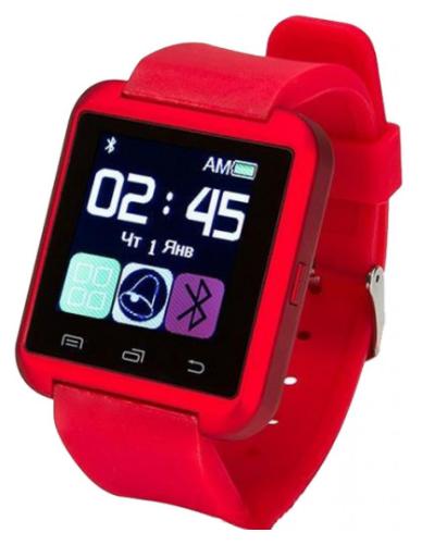 Смарт-часы ATRIX Smartwatch E08.0 (red)