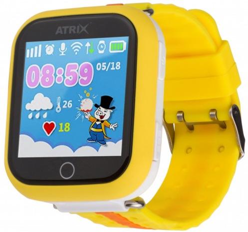 Смарт-часы ATRIX Smartwatch iQ100 Touch Orange