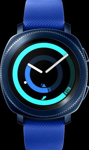 Смарт-часы SAMSUNG Gear Sport Blue (SM-R600NZBA)
