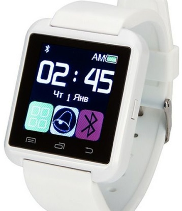 Смарт-часы ATRIX Smartwatch E08.0 (white)