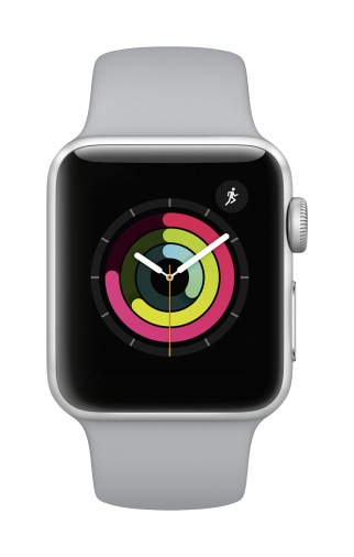 Смарт-часы APPLE Watch S3 38mm Aluminium/Fog (MQKU2FS/A)