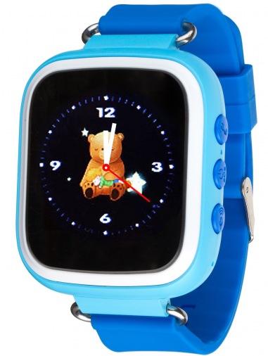 Смарт-часы детские ATRIX Smartwatch iQ200 GPS Blue