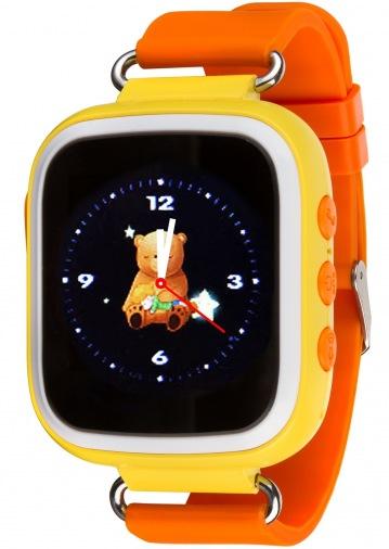 Смарт-часы детские ATRIX Smartwatch iQ200 GPS Yellow