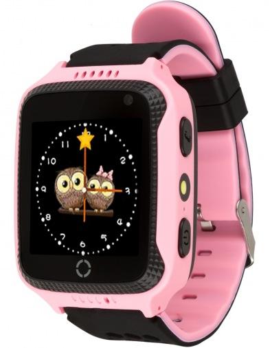 Смарт-часы детские ATRIX Smartwatch iQ600 GPS Pink