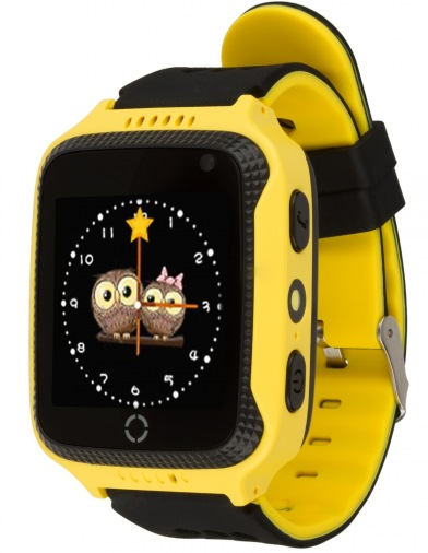 Смарт-часы детские ATRIX Smartwatch iQ600 GPS Yellow