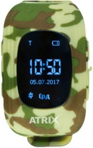 Часы детские ATRIX Smartwatch iQ300 GPS Camo