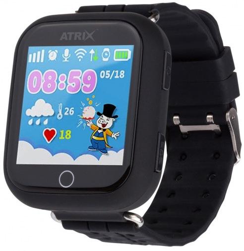 Смарт-часы ATRIX Smartwatch iQ100 Touch Black