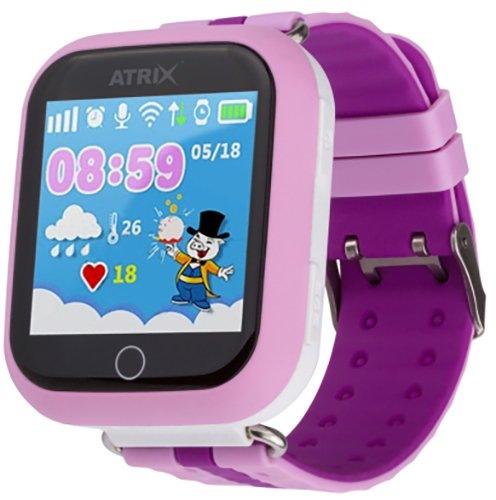 Смарт-часы ATRIX Smartwatch iQ100 Touch Pink