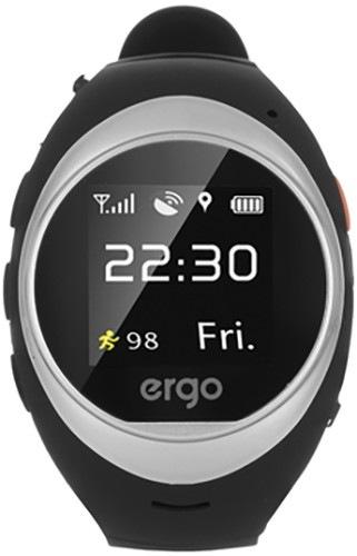 Часы детские ERGO A010 GPS Tracker Advanced Siver