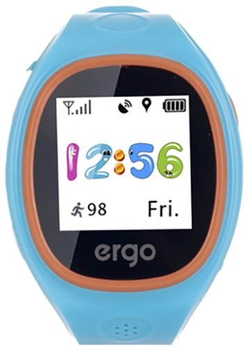 Смарт-часы детские ERGO J010 Tracker Junior Blue