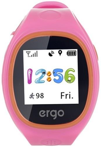 Смарт-часы детские ERGO J010 Tracker Junior Pink
