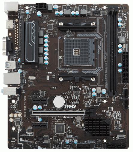 Материнская плата MSI A320M PRO-VH PLUS (sAM4, AMD A320) mATX