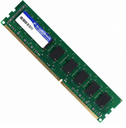 Память Silicon Power 1x4Gb DDR3 1600MHz PC3-12800 (SP004GBLTU160N02)