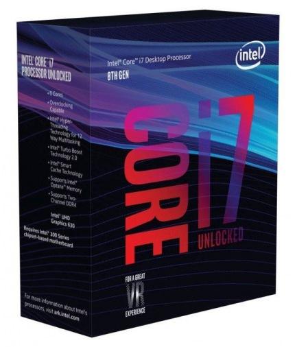 Процессор Intel Core i7-8700K BX80684I78700K (s1151, 3.7Ghz) BOX