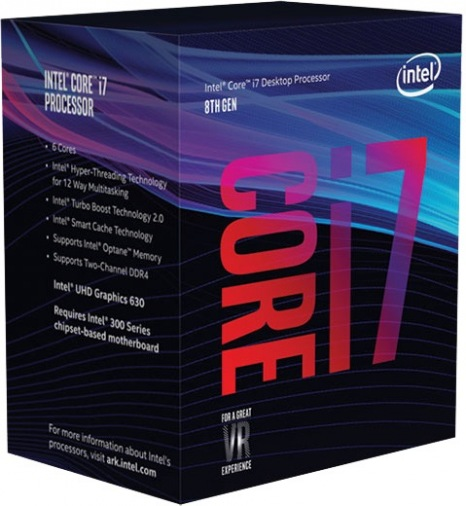Процессор Intel Core i7-8700 3.2GHz S1151 (BX80684I78700) BOX