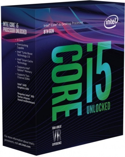 Процессор Intel i5-8600K 3.6GHz S1151 (BX80684I58600K) Box