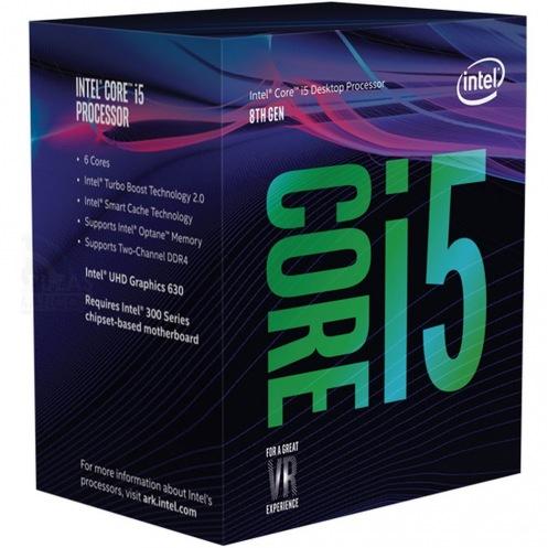 Процессор Intel Core i5-8400 BX80684I58400 (s1151, 2.8Ghz) Box