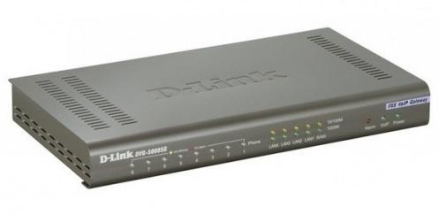 VoIP-шлюз D-Link DVG-5008SG 8 FXS, 1 * GE WAN