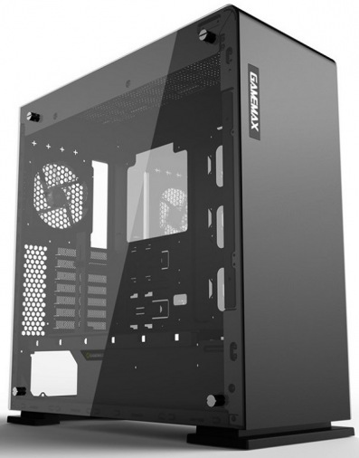 Корпус Gamemax M909 VEGA TEMPERED GLASS BLACK